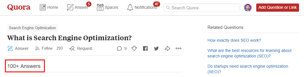 learn seo on quora
